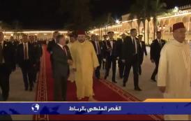 فيديو. مشاهد من داخل القصر الملكي بالرباط خلال استقبال العاهل الأردني