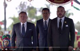 فيديو . الملك محمد السادس يستقبل الملك الأردني الذي يبدأ زيارةً رسمية للمملكة