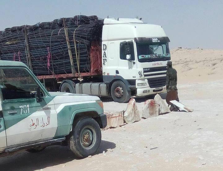 البوليساريو تواصل استفزاز المغرب بتوقيف شاحناته التجارية المتجهة نحو موريتانيا