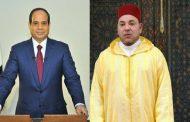الملك محمد السادس يؤكد حرصه على مواصلة العمل مع السيسي لتعزيز العلاقات بين الرباط و القاهرة