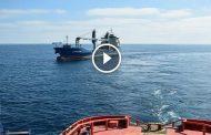 القضاء الإسباني يأمر باعتقال قبطان سفينة روسية تسبب في غرق قارب صيد ومقتل بحار مغربي