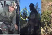 فيديو . قاتل البرلماني 'مرداس' و براعة استعماله لبندقية الصيد