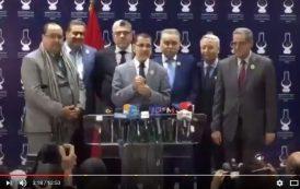 """فيديو . بعد مخاض عسير .. """"الحكومة العثمانية"""" ترى النور"""