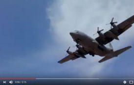 فيديو . طائرة شحن أمريكية تحط الرحال بأكادير للمشاركة في مناورات عسكرية