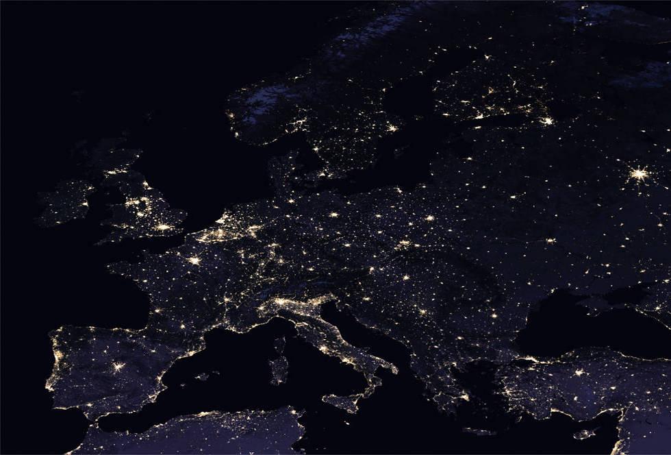 صور | الناسا تلتقط صوراً فضائية ليلية رائعة للمغرب