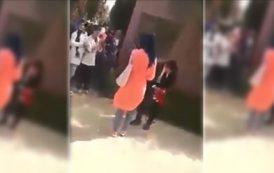 فيديو . على طريقة المسلسلات التركية..تلميذ يطلب يد صديقته بأحد الثانويات المغربية