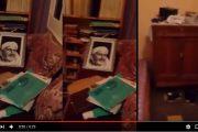 """فيديو . هكذا صارت الغرفة التي كان """"يخطب"""" منها الزفزافي بعد اقتحامها من طرف الشرطة"""