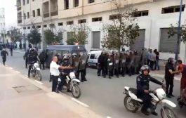 مندوب الصحة بالحسيمة :3 أمنيين في حالة خطيرة بعد مواجهات مع محتجين