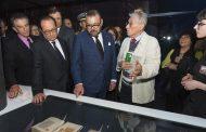 رئيس معهد العالم العربي بباريس : اندهشت لمعرفة الملك العميقة بكافة الفنون