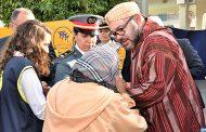 """الملك محمد السادس يطلق """"قفة رمضان"""" من فاس"""
