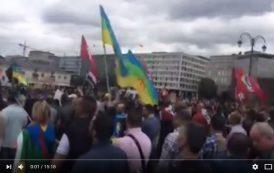 """فيديو . مسيرة حاشدة ببروكسيل يوم عيد الفطر دعماً لـ""""حراك الريف"""""""