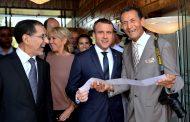 الرئيس الفرنسي 'ماكرون' يطلب التقاط صورة مع المصور الخاص للملك محمد السادس