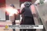 فيديو. قمع مسيرة الخميس بالحسيمة على قنوات العالم بالانجليزية والإسبانية والفرنسية والعربية