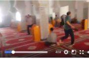 فيديو . غازات مسيلة للدموع تتسرب للمساجد بالحسيمة