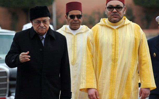 محمود عباس يهاتف الملك محمد السادس مطالباً منه تحمل مسؤوليته فيما يقع بالقدس