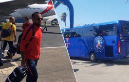صور وفيديو | وصول نجوم باريس سان جيرمان إلى طنجة لخوض مباراة كأس السوبر الفرنسي ضد موناكو