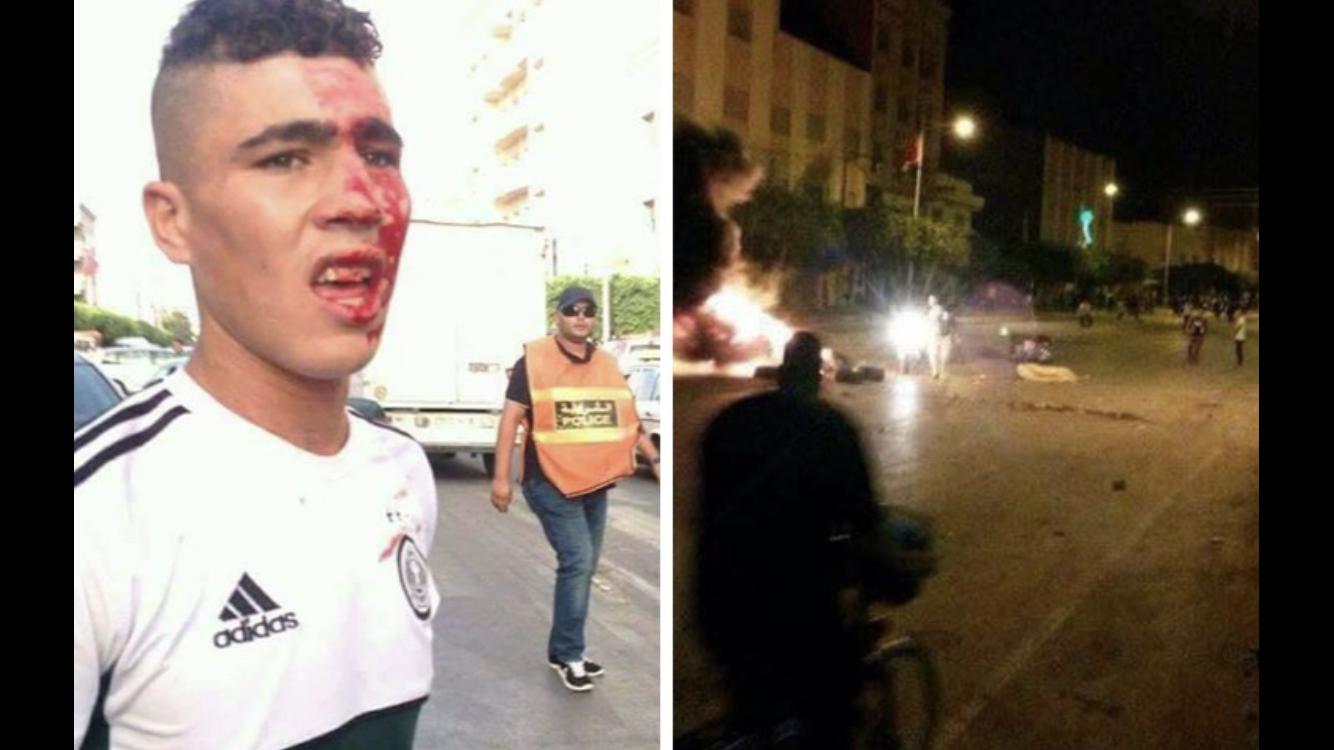 صور وفيديو. الاحتجاجات تنتقل من الحسيمة الى العروي وسط مواجهات ليلية عنيفة للمطالبة بإطلاق سراح معتقلي 'الحِراك'