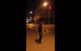 فيديو. مواجهات ليلية بين الأمن ومتظاهرين بالعروي