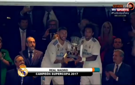 فيديو. احتفالات صاخبة بملعب 'البيرنابيو' بعد تتويج الريال بكأس السوبر الاسباني على حساب برشلونة