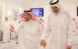 محلل سياسي : الشيخ عبد الله آل ثاني الذي استقبله الملك سلمان بطنجة هو حاكم قطر القادم