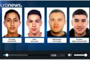 فيديو . هؤلاء هم المغاربة الأربعة المتورطين في حادث برشلونة الإرهابي