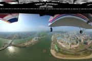 فيديو. شاهدوا أول فيديو لعاصمة كوريا الشمالية من السماء