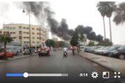 فيديو . حريق يأتي على مخيم للأفارقة بمدينة فاس