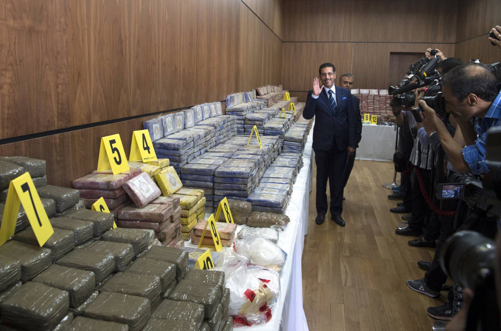 الخيام : شبكة الكوكايين لم تخترق الأمن و من ثبت تورطه سيحاسب أياً كان منصبه