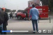 فيديو . لحظة نقل معتقل على خلفية 'حراك الريف' مضرب عن الطعام من المحكمة للمستشفى بعد أن أغمي عليه
