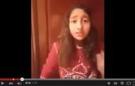 فيديو مُؤثر : طفلة مغربية تُنادي المَلك حول فاجعة طانطان…عافاك أعَمِي المَلك