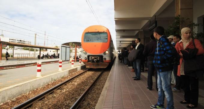 أشغال بمحطة القطار بالقنيطرة..الغاء جزئي أو كلي للرحلات