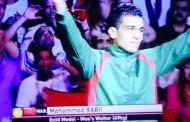 الملاكم المغربي 'ربيعي' بطلاً للعالم عن جدارة واستحقاق بالدوحة