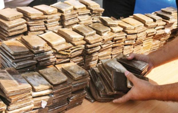 حجز 55 كلغ من مخدر الشيرا بمعبر باب سبتة !
