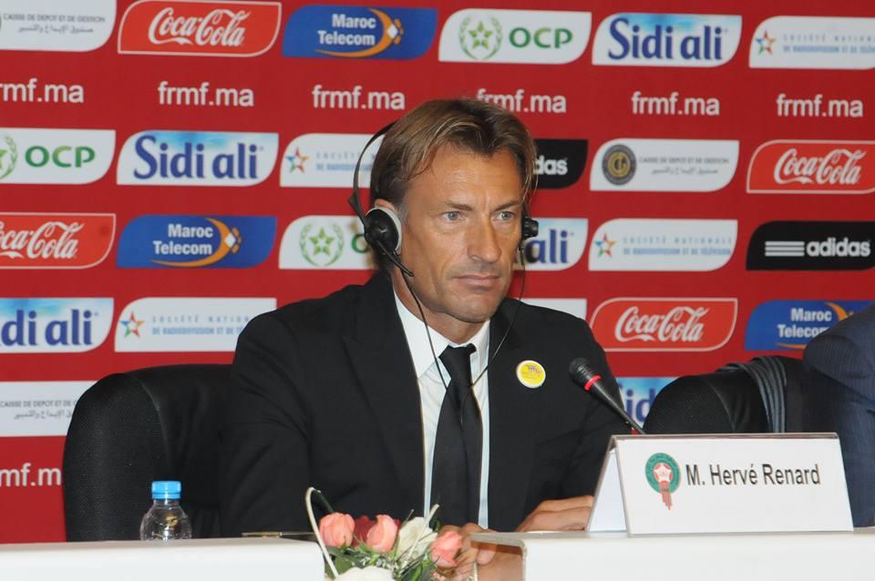 رونار يستقيلُ رسمياً من تدريب المنتخب الوطني المغربي ويُوجهُ رسالةً للمغاربة