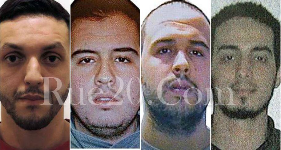 بينهم مغاربة . هؤلاء أبرز المتورطين في هجمات بروكسل المبحوث عنهم