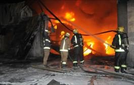 إحتراق فتاتين بمراكش بعد اندلاع النيران في مركز تجاري