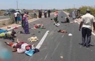 إنقلاب 'بيكوب' لنقل العمال الزراعيين باشتوكة يوقع ضحايا !