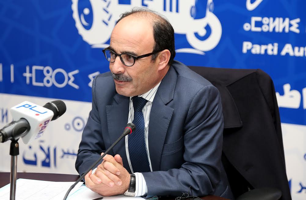 سكرتارية المجلس الوطني لـ'البام' تصفع 'المنصوري' و تقرر عرض استقالة العماري للنقاش و المصادقة