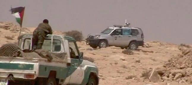 الجيش الموريتاني يطلق النار في منطقة محظورة بالقرب من مليشيات البوليساريو !