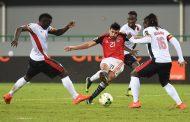 المنتخب المصري يحقق فوزاً هاماً على أوغندا ليضع قدماً في الدور المقبل