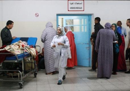 استنفار بمستشفى سيدي سليمان بعد الإشتباه في إصابة ممرضة بانفلونزا الخنازير !