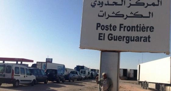 صور/ توقف جديد لمعبر الكركرات الحدودي و المينورسو تدخل على الخط !