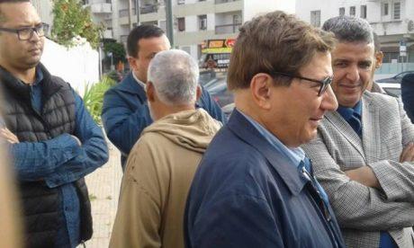 اعطيني حقيبة وزارية ولا نحتج. 'حميش' نسا حتى عنوان مقر 'الاتحاد الاشتراكي' و تظاهر على عدم استوزاره