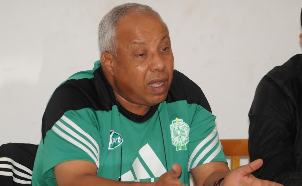 فاخر يختار تشكيلة الفريق الأخضر لمواجهة الوداد البيضاوي في الدوري الاحترافي لكرة القدم