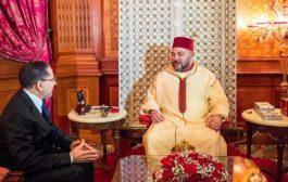 الملك يهنئ العثماني و يشيد بقيادة وقواعد البيجيدي