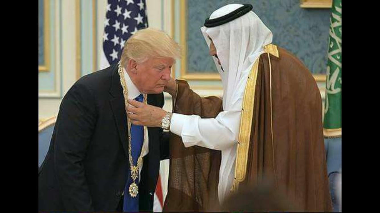 نتيجة بحث الصور عن ترامب في السعودية