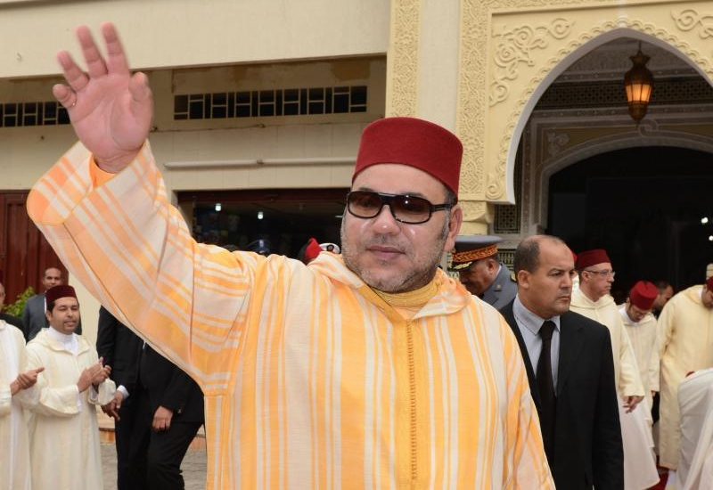 """الملك محمد السادس يدشن مسجد """"لالة سلمى"""" بفاس"""
