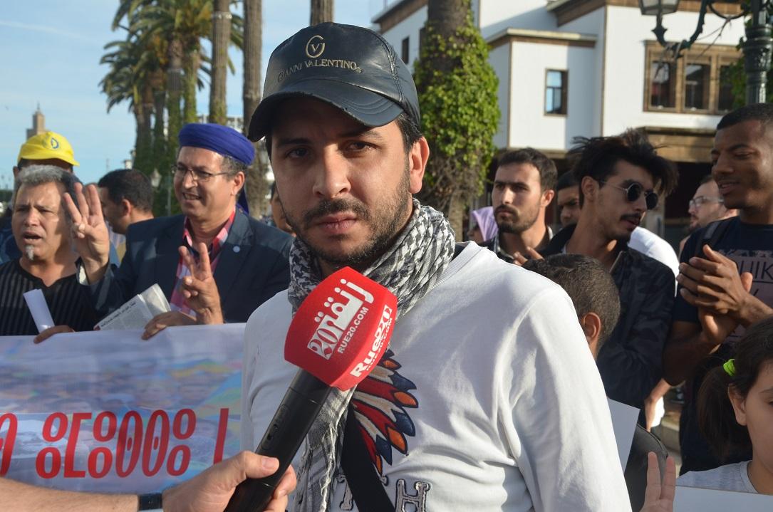 أسامة الخليفي لنُشطاء الحراك بالريف: 'أدعم مطالبكم العادلة لكن لا تقعوا في نفس أخطاء حركة 20 فبراير'