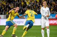 السويد تهزم فرنسا في الوقت القاتل من تصفيات مونديال روسيا