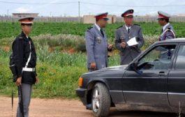 اعتقال دركي و خليلته نصبا سداً قضائياً وهمياً لابتزاز المواطنين بسيدي بنور !